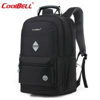 cool bell17.3英寸外星人电脑包15.6英寸笔记本背包18.4英寸旅行双肩包书包