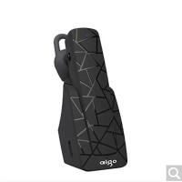 Aigo/爱国者 V10车载蓝牙耳机挂耳式 耳塞式无线运动耳机 黑色