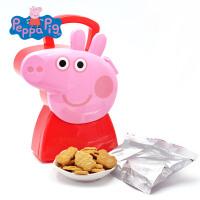 小猪佩奇Peppa Pig 粉红猪小妹 儿童休闲零食品牛奶曲奇饼干造型师礼盒100g