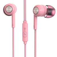 K8耳机 入耳式小米苹果华为荣耀oppo魅族vivo手机通用女生耳塞 oppor9华为vivo小米重低音手机耳机入耳式通用女生