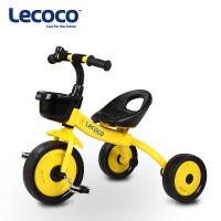 lecoco乐卡儿童三轮车脚踏车宝宝童车玩具车 2-3-5岁小孩自行车
