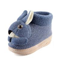 棉拖鞋女冬季天可爱卡通室内包跟厚底防滑月子保暖棉鞋