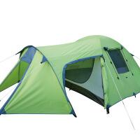 帐篷户外3-4人野外露营防雨备一室一厅双层登山帐篷套装