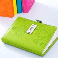 卡杰密码本带锁日记本线装记事本商务创意文具笔记本子可定制