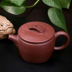 【只有一个】手工茶壶正宗宜兴名家周虎荣紫泥汉瓦紫砂壶