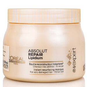 L'OREAL/欧莱雅 致臻赋活发膜�h油500ml 新款洗护发 深层滋养烫染后护理 受损发质护发素