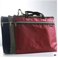 手提文件袋 A4办公收纳袋 携带方便资料袋拉链袋可定制 089