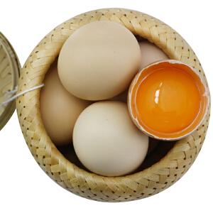 【山东特产】破损包赔泰山林下散养笨鸡蛋农家散养土鸡蛋笨鸡蛋满月子蛋纯天然土鸡蛋柴鸡蛋山鸡蛋营养蛋30枚装包邮30包邮