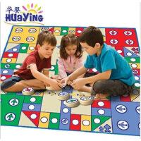 正品华婴小号 儿童益智飞行棋游戏地毯地垫 爬行毯 亲子两人玩