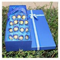 费列罗巧克力小熊棒棒糖卡通花束礼盒生日圣诞节礼物