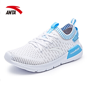 安踏女鞋跑步鞋2017夏季新款透气防滑耐磨减震运动慢跑鞋12725552