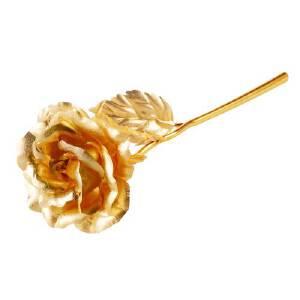 芭法娜 爱之永恒 金箔玫瑰花 送女友 情人节礼物 七夕礼物