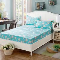 全棉 床笠单件纯棉 床罩床单席梦思保护套1.2米1.5m1.8m床垫