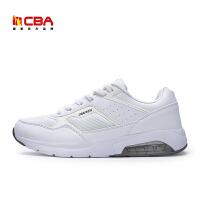 【618狂嗨继续】CBA男子跑步鞋 2017新款舒适透气减震防滑运动休闲慢跑鞋增高鞋