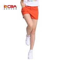 【618狂嗨继续】CBA女子运动短裤夏季轻薄透气速干跑步运动热裤运动休闲短裤