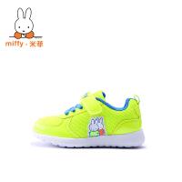 Miffy米菲童鞋2017春秋款透气男童鞋女童运动鞋儿童跑步鞋网鞋AD014