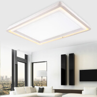 led长方形客厅卧室房间吸顶灯具灯饰调光大气现代简约