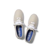 Keds 女鞋帆布鞋泰勒同款女士时尚休闲经典百搭纯色系带低帮帆布鞋 多色可选