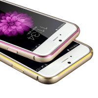 闪魔苹果6手机壳iphone6手机套苹果6纤薄金属边框保护手机套4.7寸