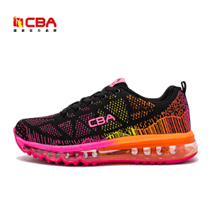 CBA情侣款跑鞋 2017新款男女情侣跑鞋男女气垫减震跑步鞋运动休闲鞋