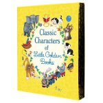 Classic Characters of Little Golden Books: The Poky Little Puppy, Tootle, The Saggy Baggy Elephant, Tawny Scrawny Lion, and Scuffy the Tugboat [Hardcover] 金色童书精选 ISBN 9780375859342