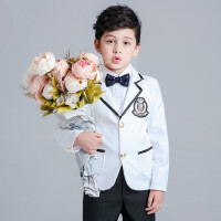 男童西装套装儿童西服外套小男童装上衣韩版潮宝宝花童礼服