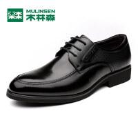 木林森男鞋 秋季新品男士商务正装皮鞋 时尚百搭系带男皮鞋05367012