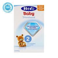 荷兰美素(Hero Baby)婴幼儿奶粉2段(6-10个月宝宝)800g一盒装 不含蔗糖、香精,口味清淡,宝宝好消化