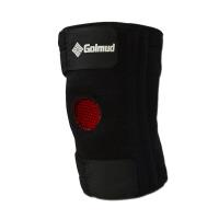 防滑条硅胶防滑 运动护具透气护膝4根弹簧 登山护膝