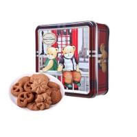 [当当自营] 精典泰迪 巧克力曲奇饼干 方盒 113g