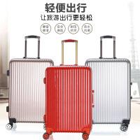 芭特莉【支持礼品卡】铝框行李箱拉杆箱万向轮旅行箱20寸韩版女男密码箱包24皮箱子 JM#8005