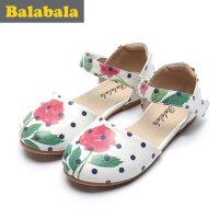 巴拉巴拉女童单鞋小童宝宝2017夏新款公主鞋儿童公主鞋子女童鞋