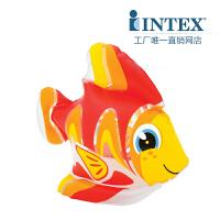 INTEX可爱动物58590 趣味水中玩具 可爱动物玩具 动物充气玩具