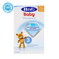 荷兰美素天赋力(Hero Baby)婴幼儿配方牛奶粉3段(10-12个月宝宝)800g一盒装  保质期到18年3月左右