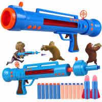 光头强火箭炮大炮玩具可发射熊出没玩具枪声光火箭筒3-6岁男孩