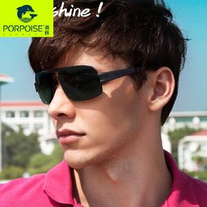 海豚太阳镜 男士经典偏光镜新款墨镜男士复古时尚运动驾车镜