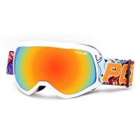 儿童滑雪镜 防雾双层男女童护目镜球面大视野滑雪眼镜