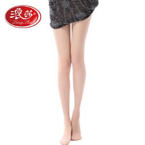 【5条装包邮】夏季新款浪莎丝袜超薄款防勾丝夏季脚尖透明连裤袜性感肉色打底袜子女(单加档)