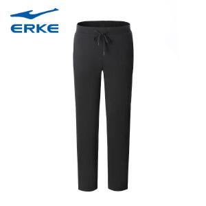 鸿星尔克男装男运动裤新品运动长裤吸湿排汗男子针织运动裤