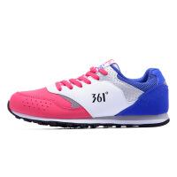 361度女鞋运动鞋2017 新款耐磨跑步鞋361复古慢跑鞋C