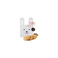 【年货】诗特莉宝贝兔125g 台湾进口牛奶巧克力燕麦手工喜饼饼干休闲零食品