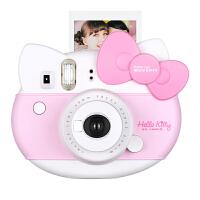 富士 instax mini hello kitty一次成像相机 拍立得胶片 趣奇相机 - 粉红色