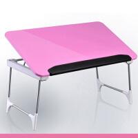 大豪 赛鲸炫彩笔记本电脑桌 折叠床上桌  学习桌 小书桌