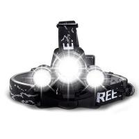 户外矿灯LED头灯强光充电T6头戴手电筒单车山地车前灯钓鱼灯