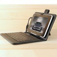 通用型 平板电脑手机保护套皮套带 USB链接键盘 支架10.1寸