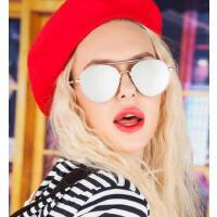 GM墨镜女潮个性 潮牌太阳眼镜男圆形范     防紫外线墨镜   支持礼品卡