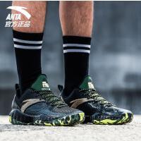 安踏篮球鞋男2017秋季新款防滑耐磨运动鞋训练篮球战靴男11731392