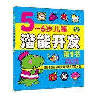 5-6岁儿童潜能开发 幼儿园学前教育 亲子益智游戏图书籍 宝宝启蒙早教读物 左右全脑智力开发 幼儿思维训练 河马童书 学前班教材