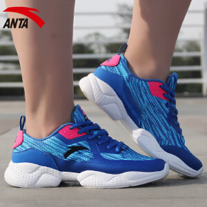 安踏女鞋春季轻便休闲鞋透气防滑耐磨跑鞋运动鞋综训鞋12627756