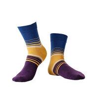 圣大保罗 男士袜子 精梳棉 男袜 休闲运动 无骨缝合 吸汗透气 潮男 短袜 1双装